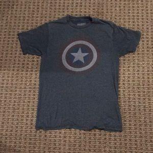 Marvel Captain America Graphic Tee